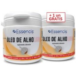 Óleo de Alho 1000 60 cáps (GRATIS + 60 cápsulas)