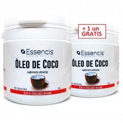 Aceite de Coco 1000mg (+ 1 un GRATIS)