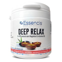 DeepRelax - 5-HTP com magnésio & vit B6 60 cáps