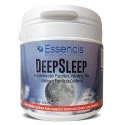 DeepSleep 60 comprimidos - Melatonina e Passiflora