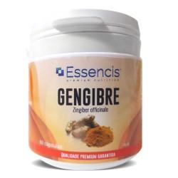 Gengibre - Zingiber officinale 60 cáps